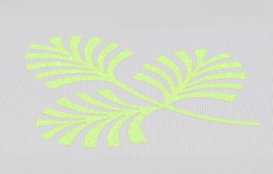 Glitter Fluorescence Rainbow 2